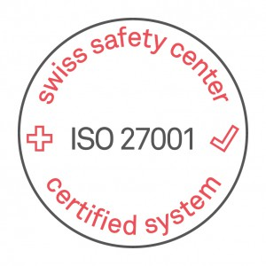 ISO Zertifizierung Diso AG, Swiss Safety Center