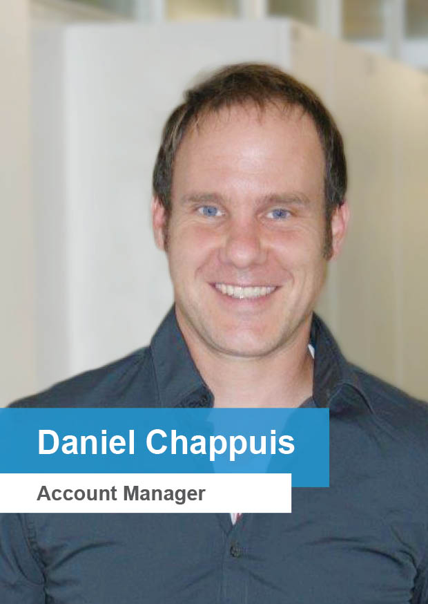 Daniel Chappuis – Account Manager Diso AG