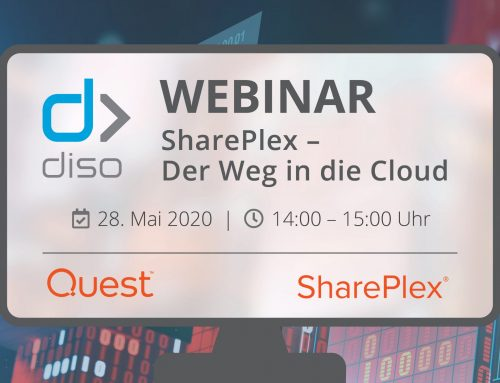 Diso Webinar: SharePlex – Der Weg in die Cloud